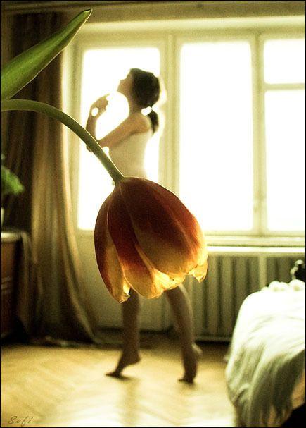 ballerina tulipano