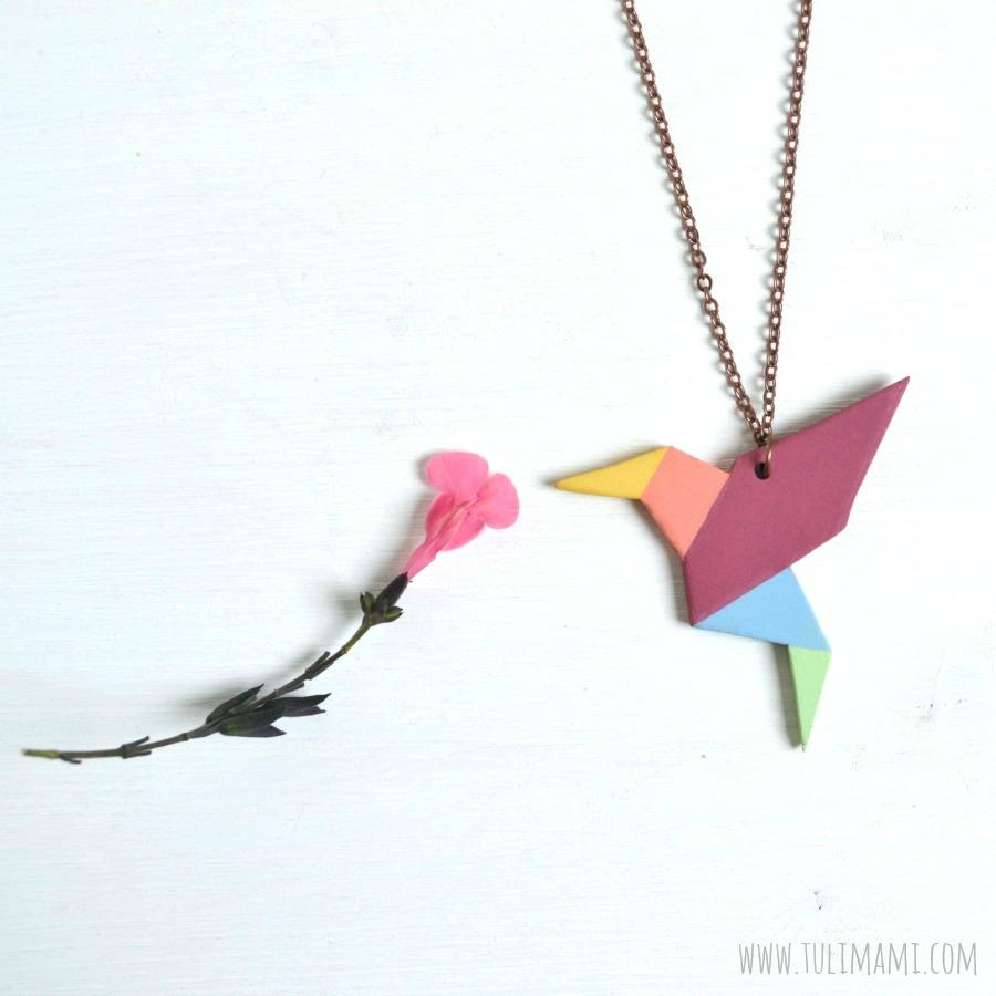 colibri origami blog