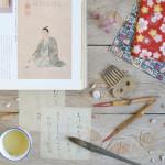 Charming DIY:  quaderni jap-style con carta di riso, stoffa e carta da parati