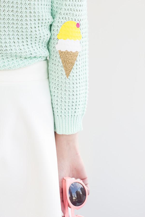 DIY-Ice-Cream-Cone-Elbow-Patches9-600x900