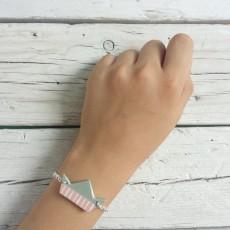 bracciale cinderella rosa 2