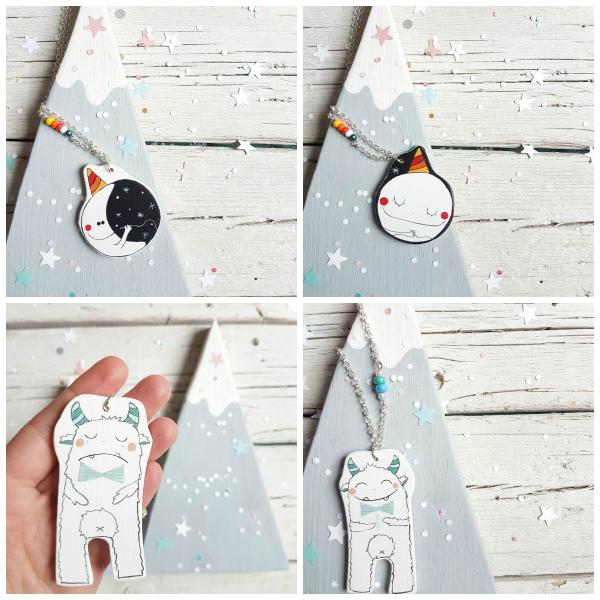 Luna yeti collage