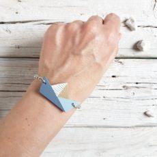 bracciale barchetta blu