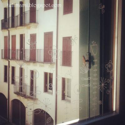 Un'idea DIY per la finestra