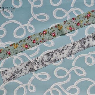 DIY: fabric washi tape