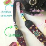DIY camera strap (tracolla della fotocamera personalizzata)