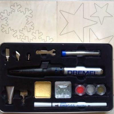 Embossing con Dremel