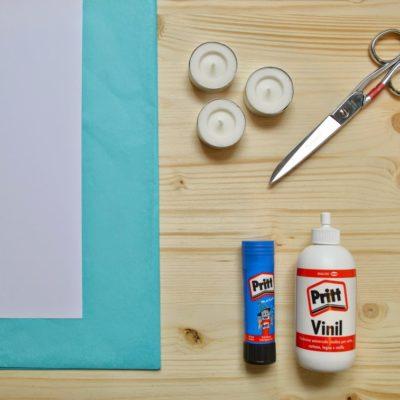DIY: lanternine di carta per Henkel