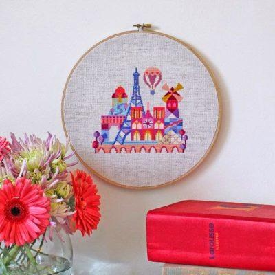 Wooden embroidery hoops (cerchi per ricamo)