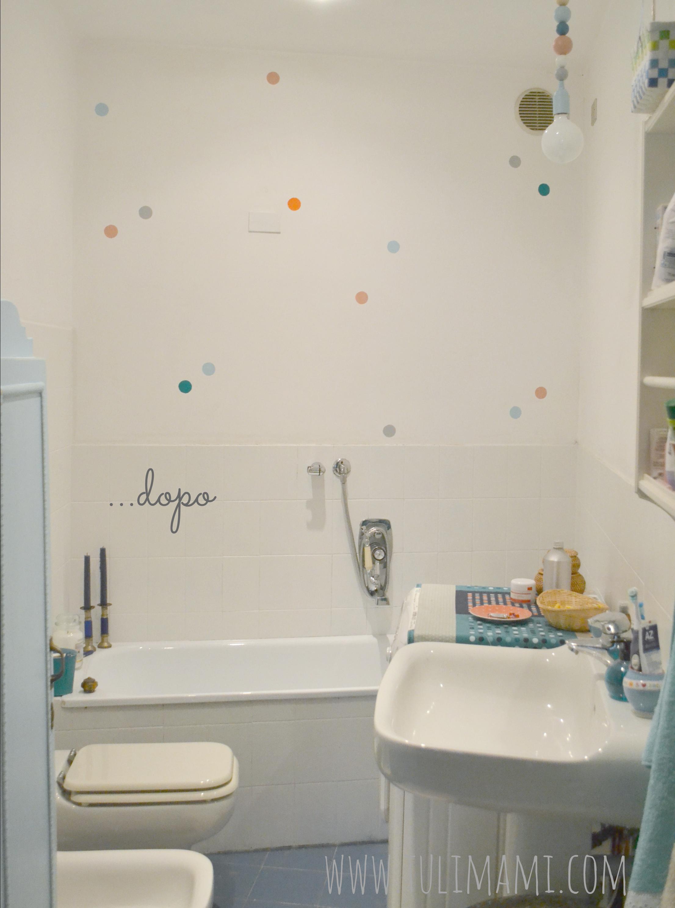 Il bagno ex brutto tulimami - Idee per rivestire un bagno ...