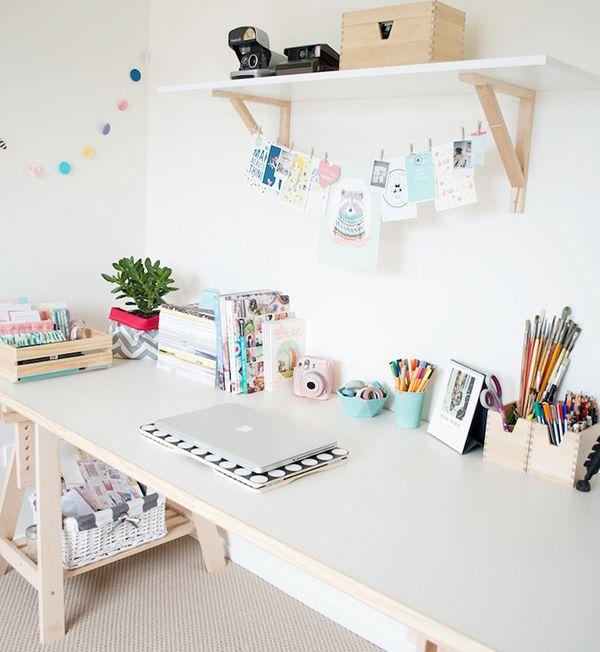 Idee fai da te per la zona studio tulimami for Kinderzimmer nordisch
