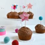 Muffin antidentista con cavolatine irrinunciabili sopra