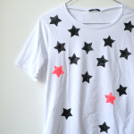 Fashion DIY: T-shirt stellare