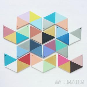 Geometric chic - collane e spille