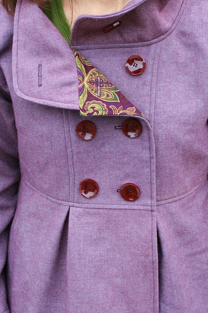 cappottino viola