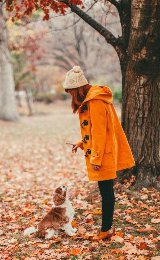 cappotto arancione