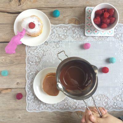 L'ospite ingorda e i dorayaki al cioccolato