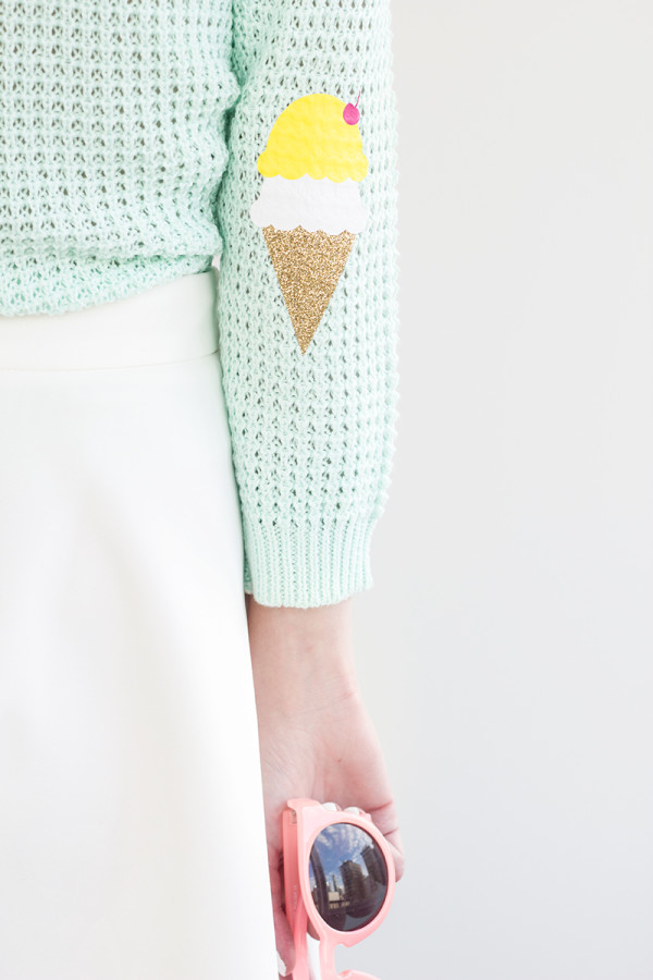 DIY-Ice-Cream-Cone-Elbow-Patches9-600x900
