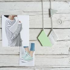 breakfree verde e argento fronte
