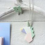 unicorno arcobaleno pastello