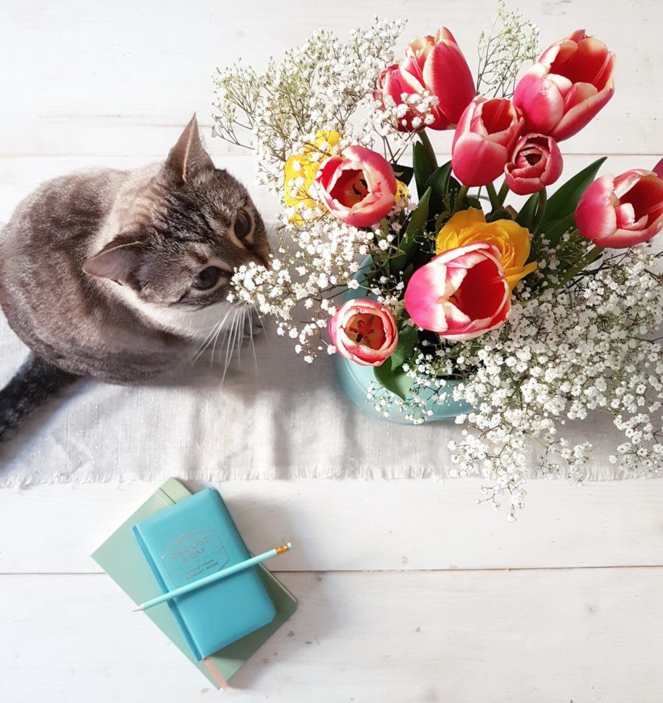 omino fiori